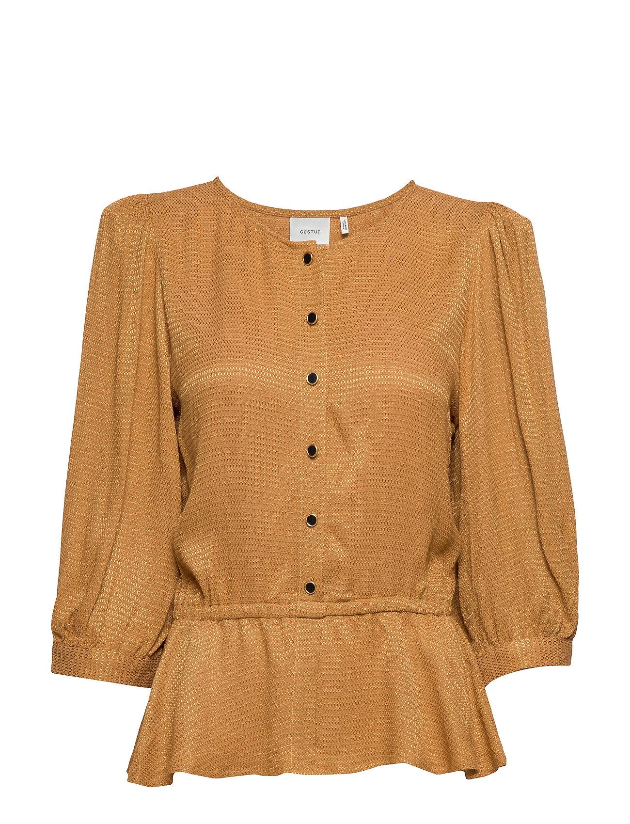 Gestuz MerleGZ blouse SO20 - BONE BROWN