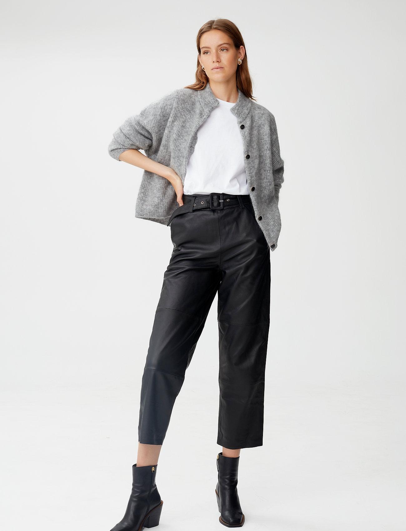 Gestuz - DebbieGZ short cardigan NOOS - cardigans - high-rise grey melange - 0