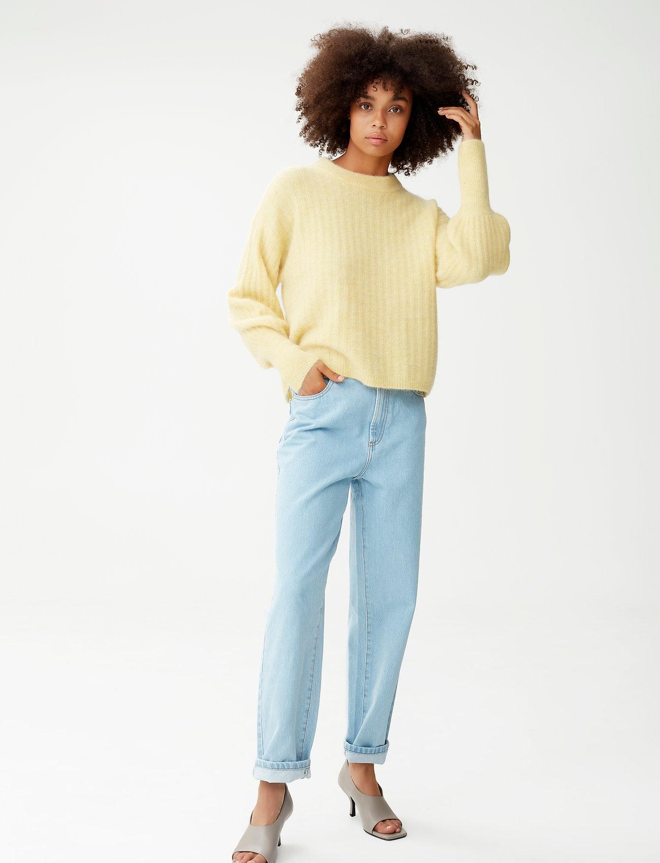 Gestuz - AlpiaGZ pullover MS20 - trøjer - dried moss melange - 0