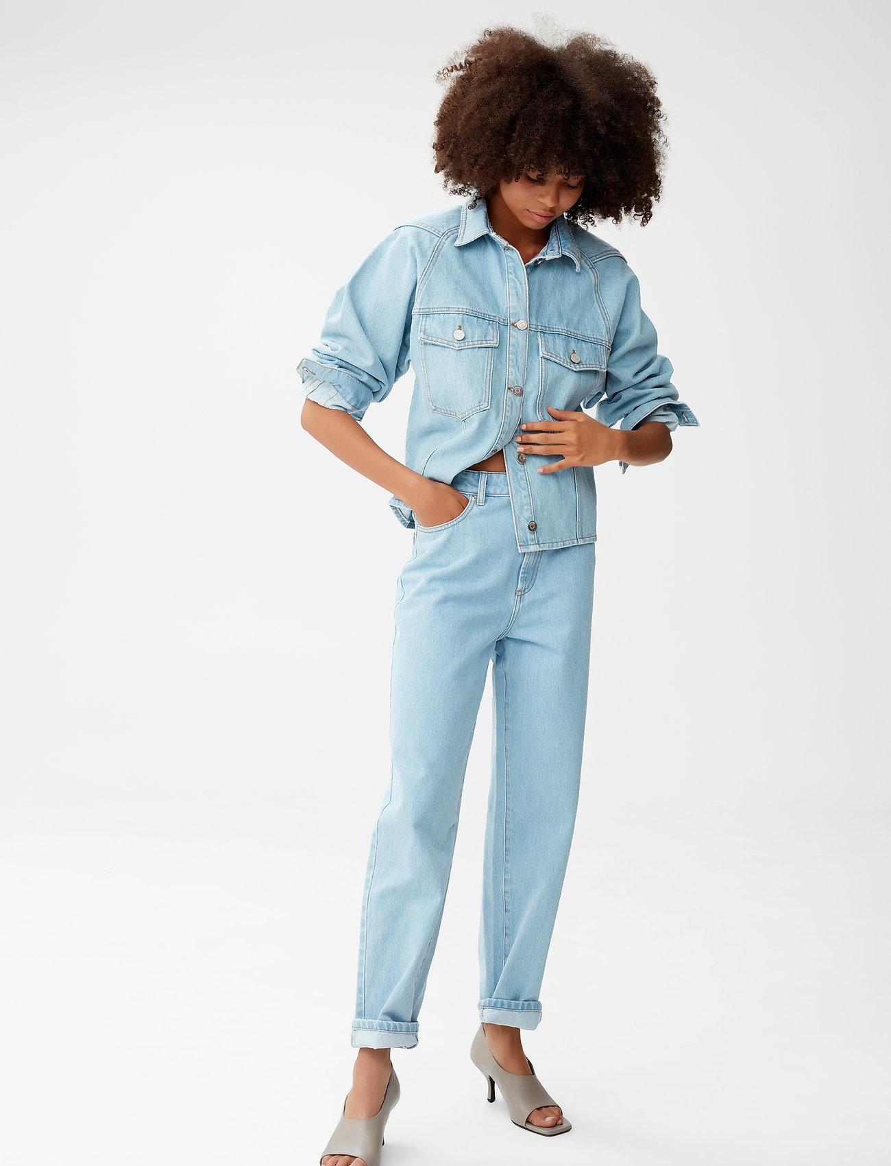 Gestuz - DacyGZ MOM jeans - straight regular - light blue vintage - 0