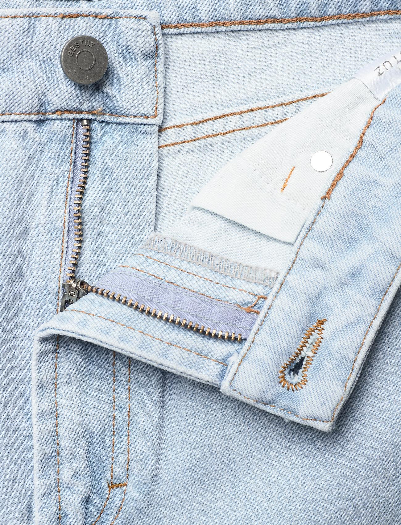 Gestuz - DacyGZ MOM jeans - straight regular - light blue vintage - 4