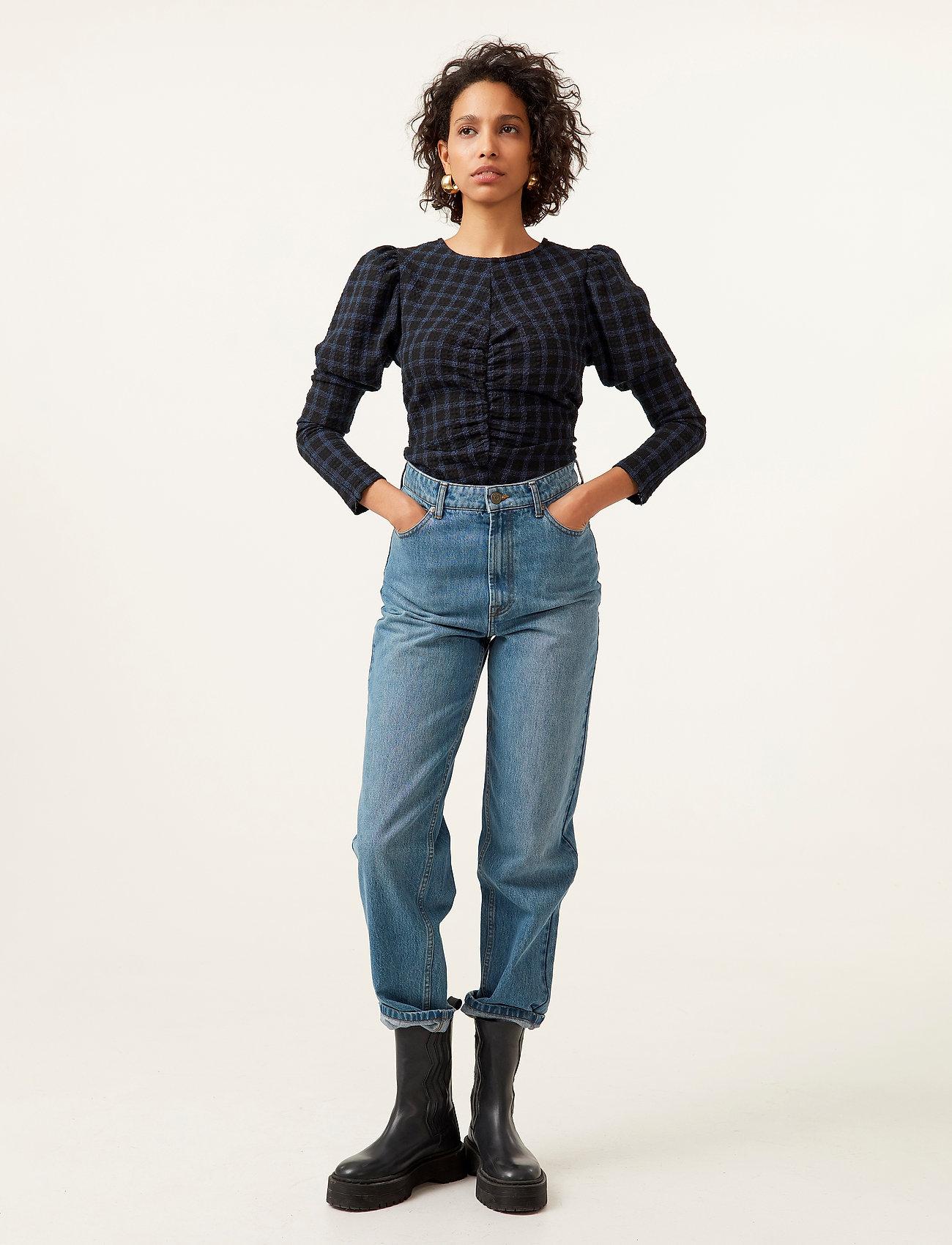 Gestuz - DacyGZ MOM jeans - straight regular - medium blue - 4