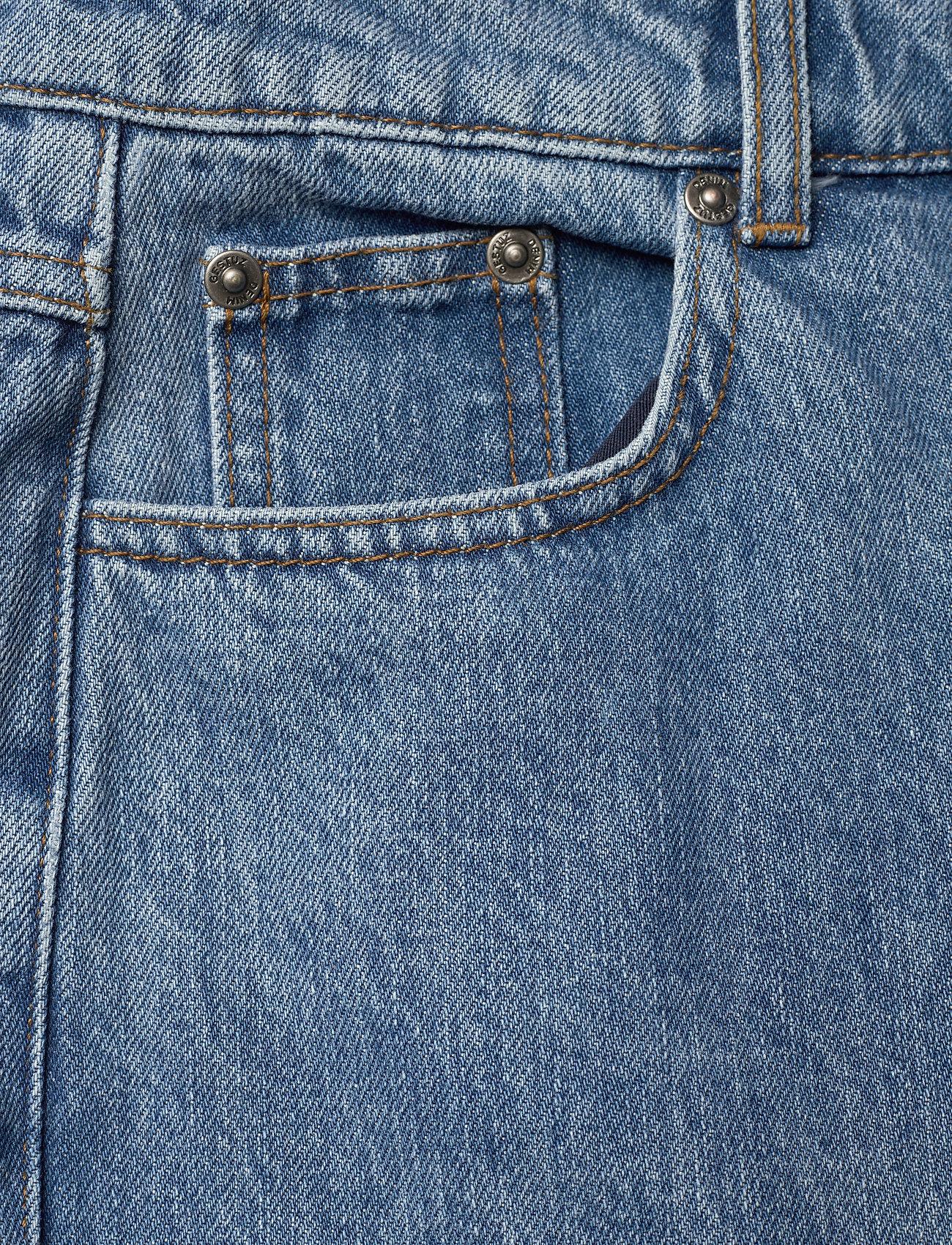 Gestuz - DacyGZ MOM jeans - straight regular - medium blue - 7