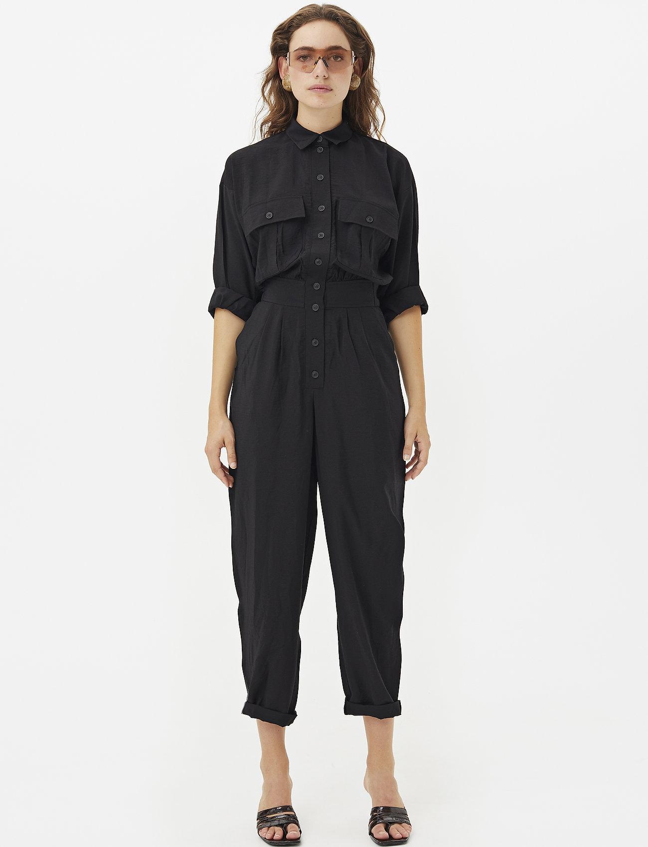 Gestuz - ContineGZ jumpsuit HS20 - kombinezony - black - 0