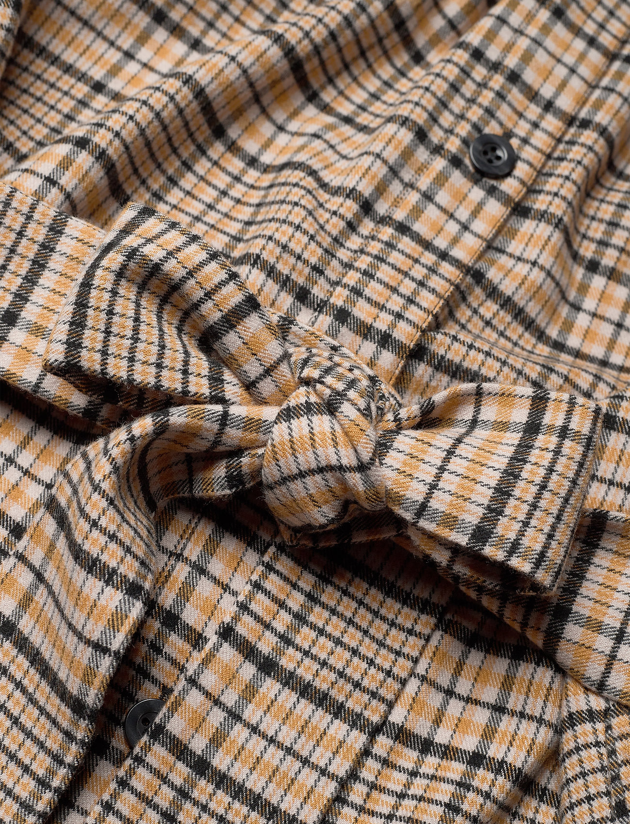 Aloegz Oz Shirt Ao20 (Yellow Black Check) (159 €) - Gestuz LBoip