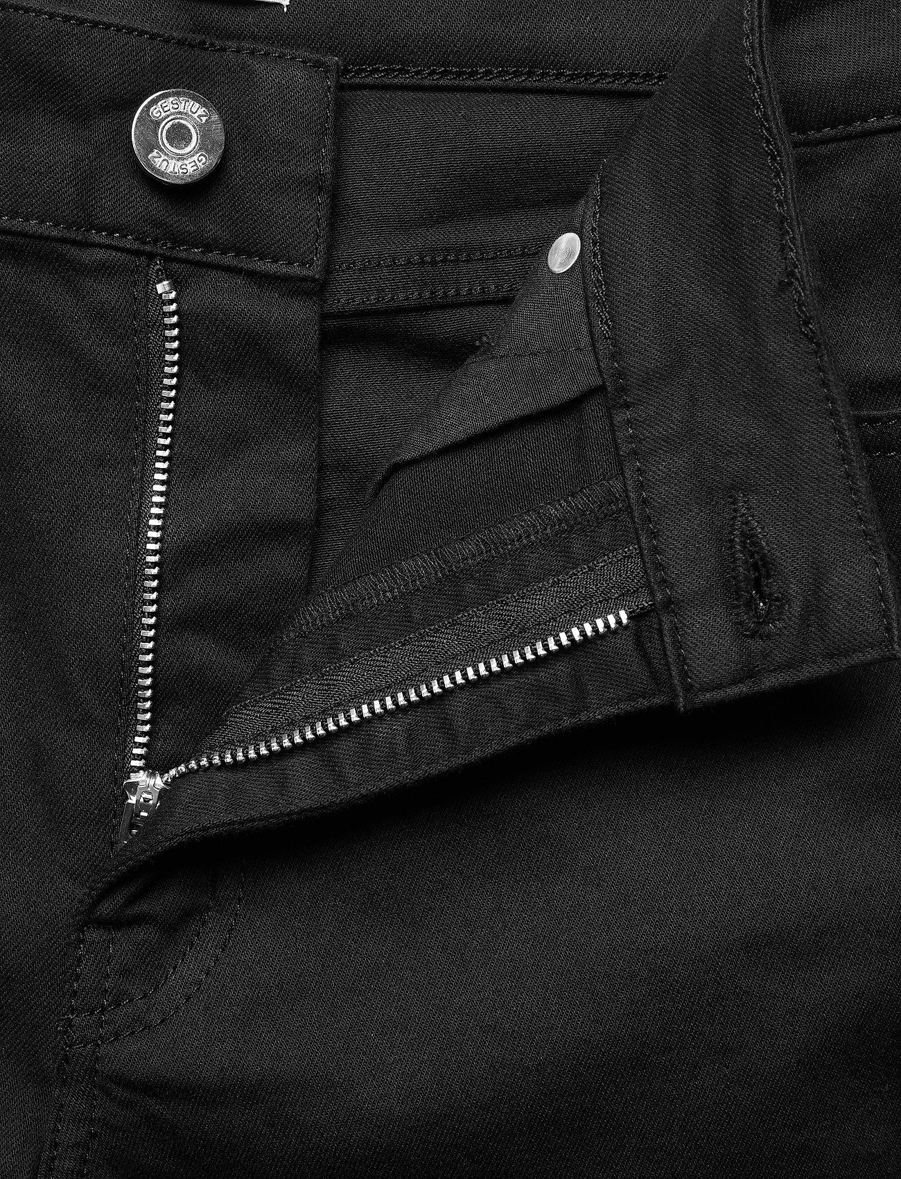 Gestuz - MaggieGZ MW skinny jeans NOOS black - skinny jeans - black - 4