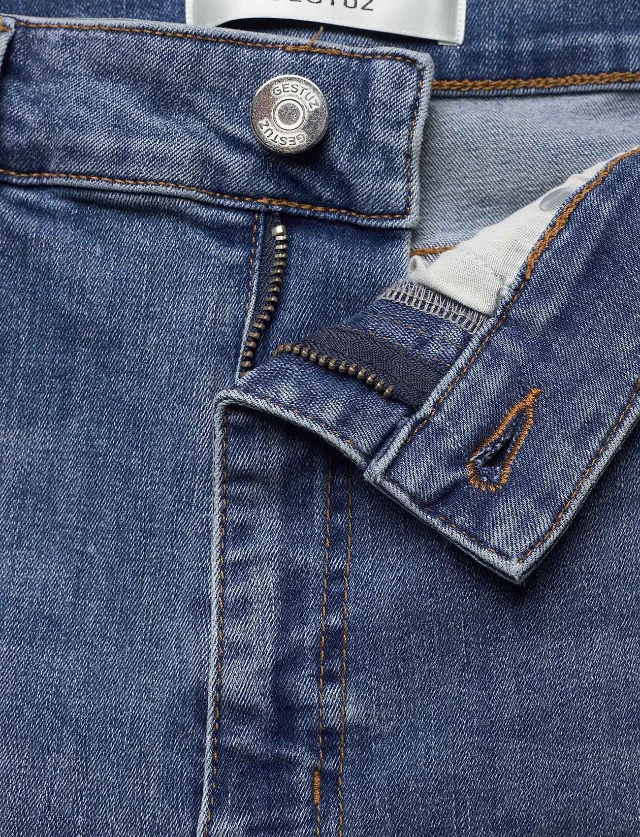 Gestuz - EmilyGZ HW skinny jeans NOOS - skinny jeans - l.a. blue - 3