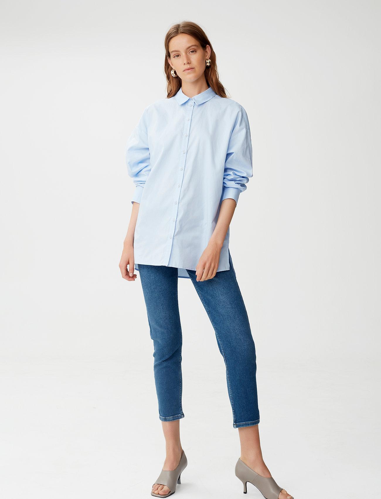 Gestuz - AstridGZ HW slim jeans NOOS - slim jeans - denim blue - 0