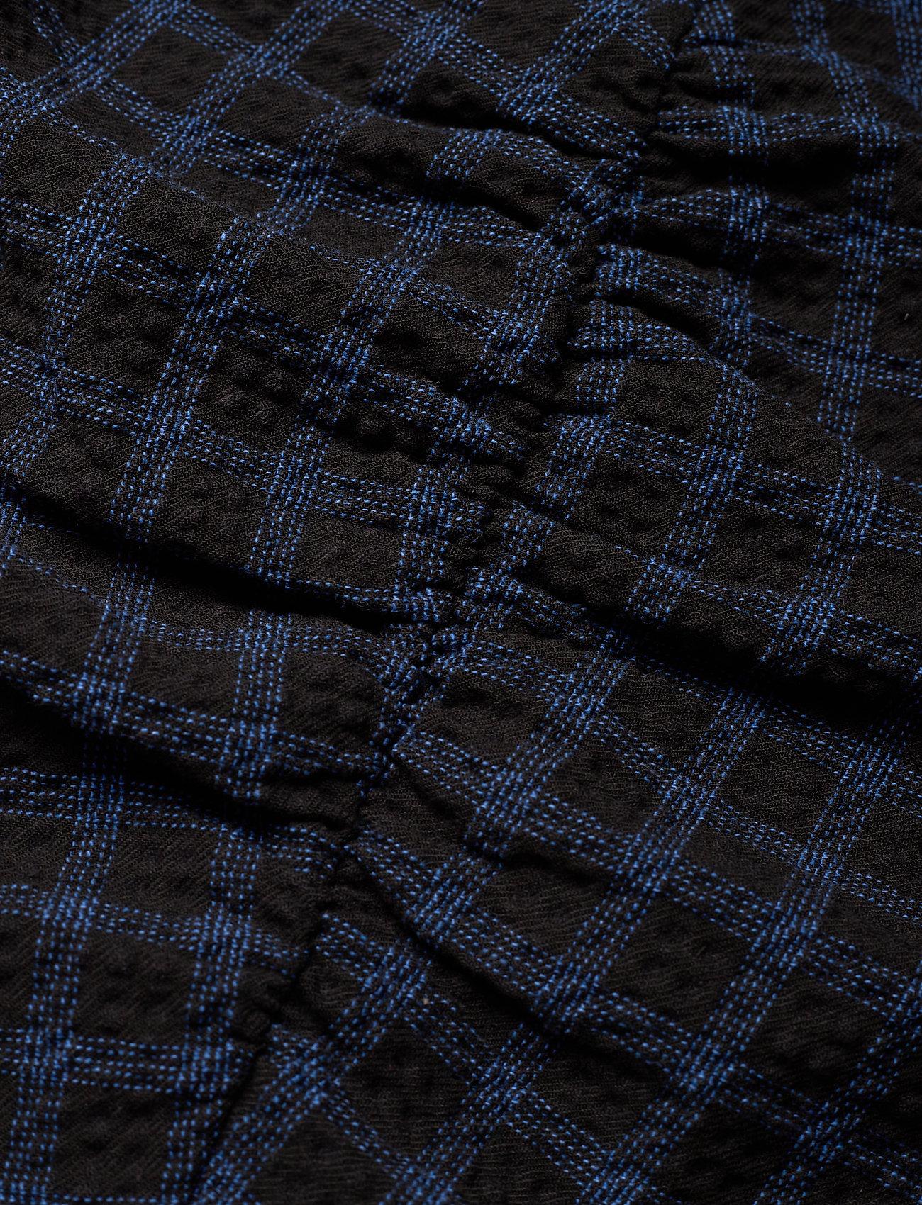 Lydiagz Blouse Ma20 (Blue Check) (139 €) - Gestuz bIH4c