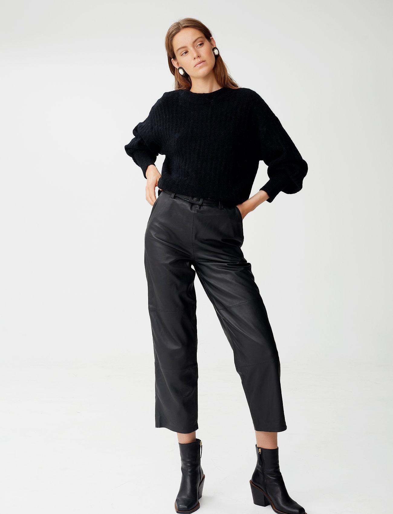 Gestuz - AlpiaGZ pullover NOOS - trøjer - black - 0