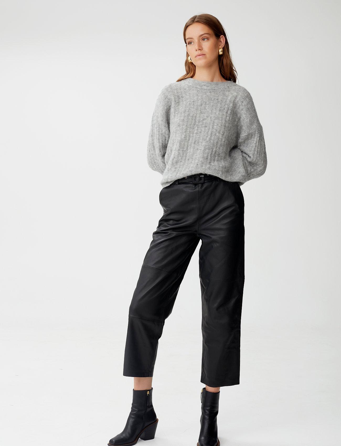 Gestuz - AlpiaGZ pullover NOOS - trøjer - high-rise grey melange - 0