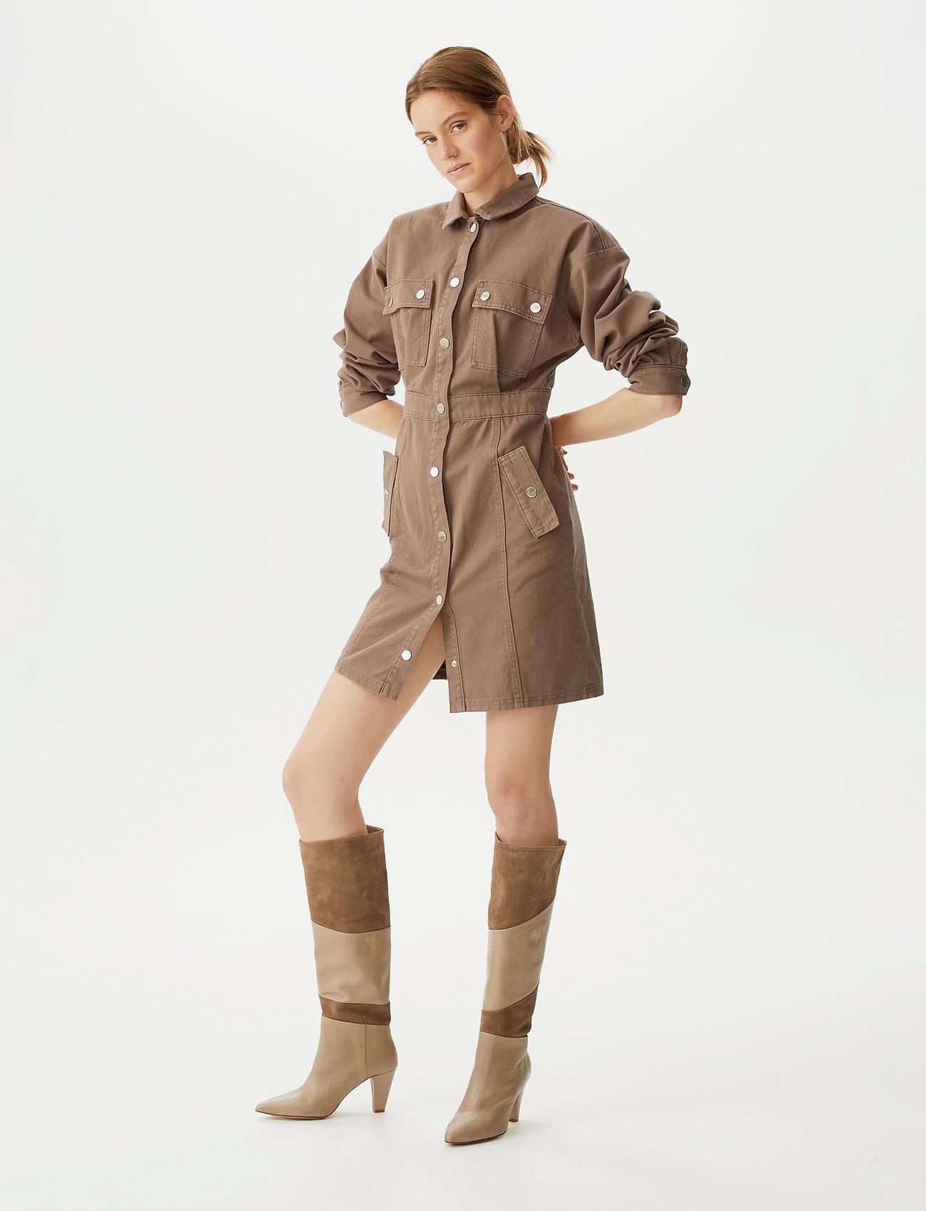Gestuz - DeboraGZ dress SO21 - skjortekjoler - earth - 0
