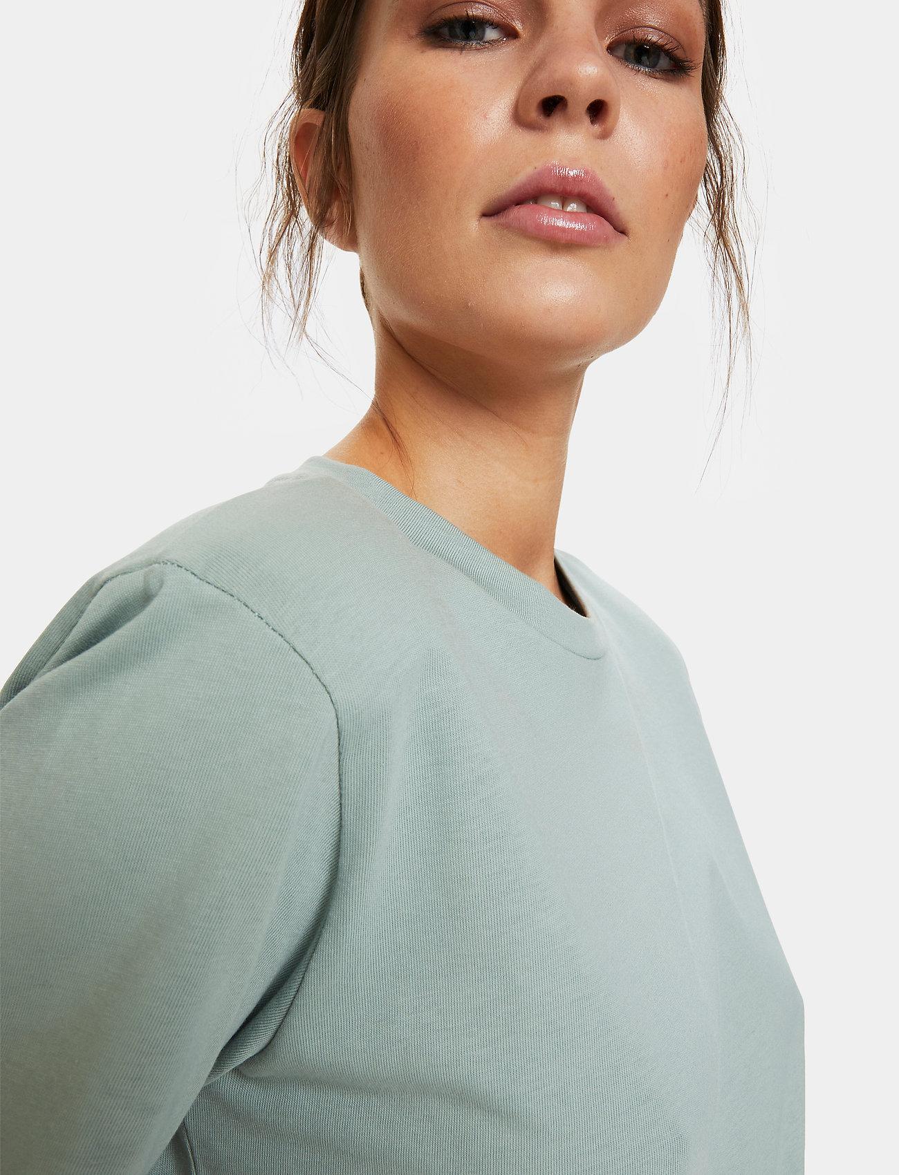 Gestuz - JoryGZ tee - t-shirts - slate gray - 0