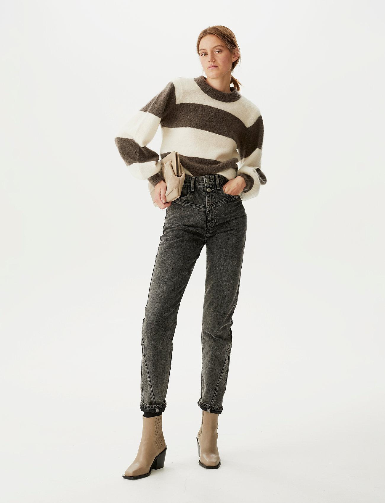 Gestuz - DebbieGZ striped pullover - trøjer - earth - 0