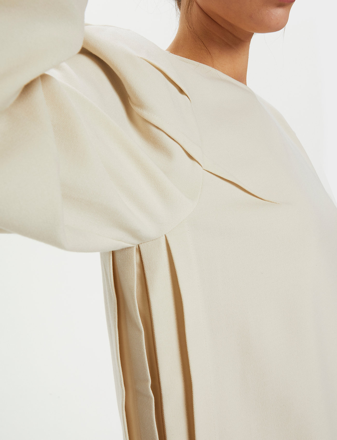 Gestuz - KlaraGZ blouse MS21 - langærmede bluser - moonbeam - 0