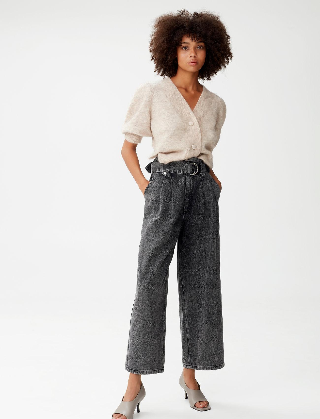 Gestuz - DebbieGZ puff cardigan - cardigans - pure cashmere melange - 0