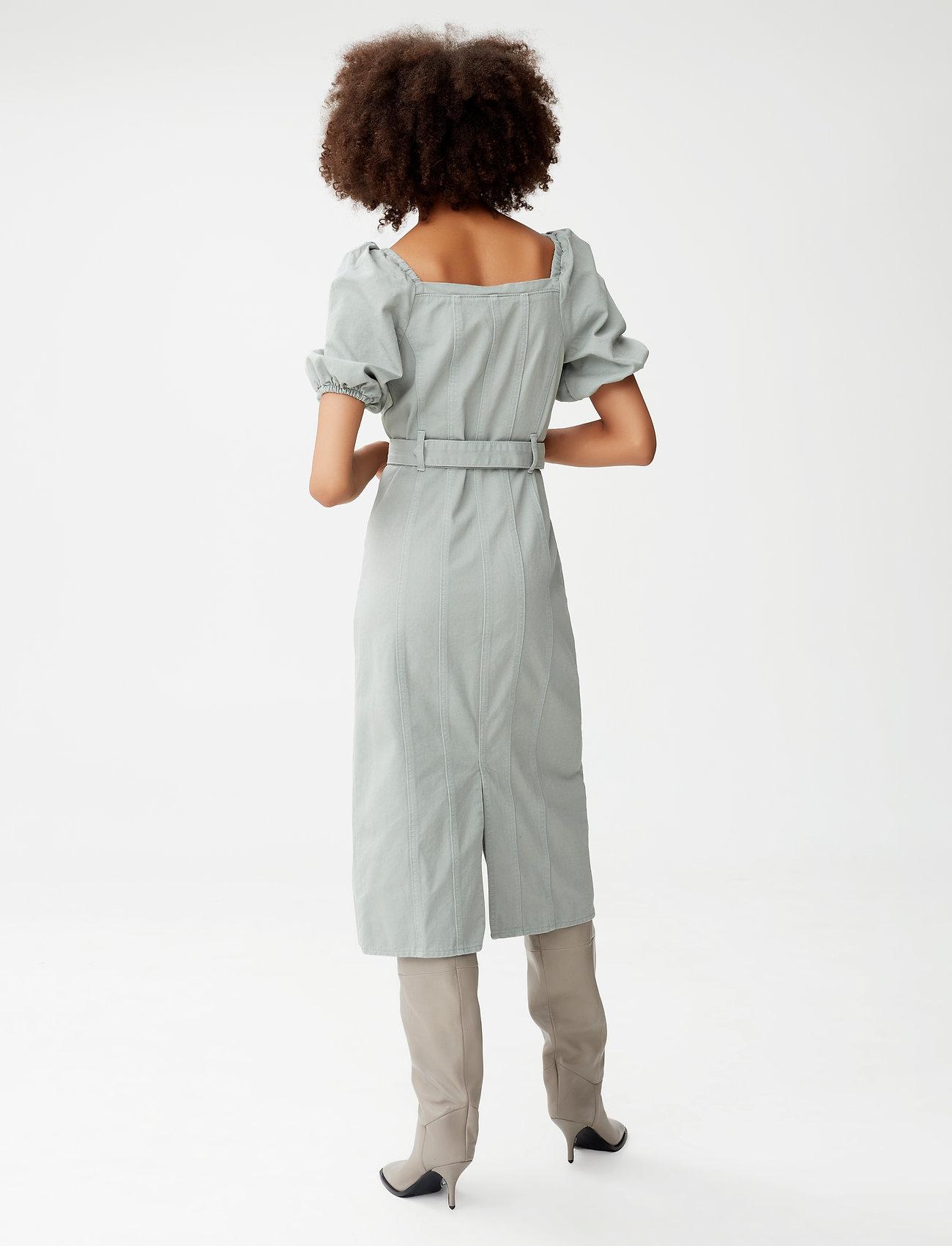 Gestuz - BellioGZ dress - sommerkjoler - slate gray - 3