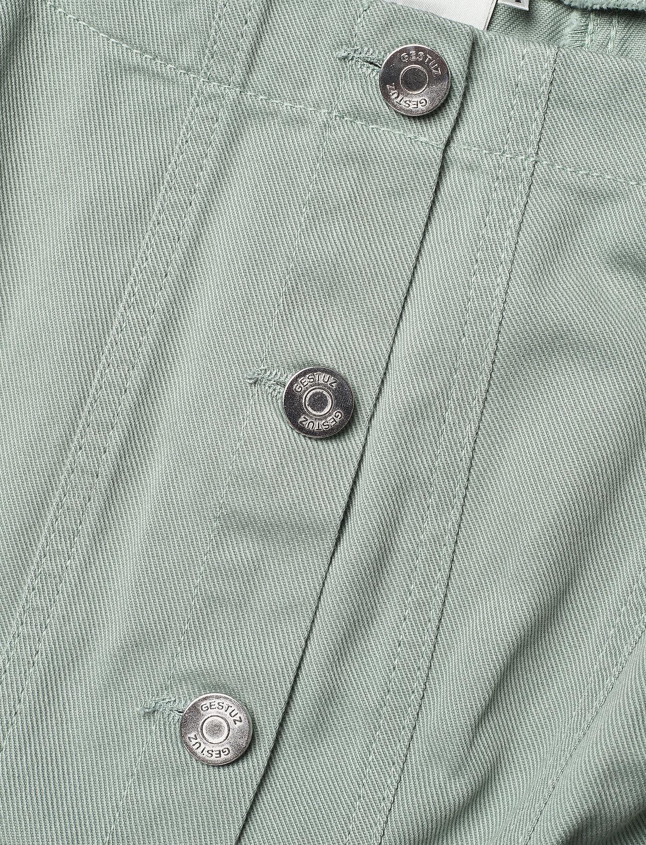 Gestuz - BellioGZ dress - sommerkjoler - slate gray - 4
