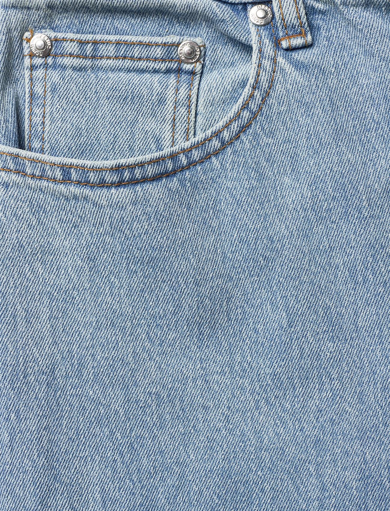 Gestuz - ElmaGZ HW wide pants - brede jeans - light blue - 1