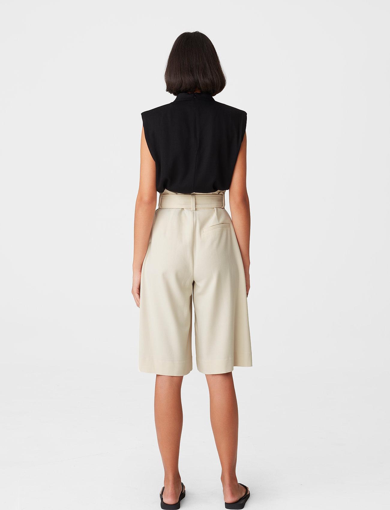 Gestuz - KlaraGZ HW shorts - bermudashorts - moonbeam - 0