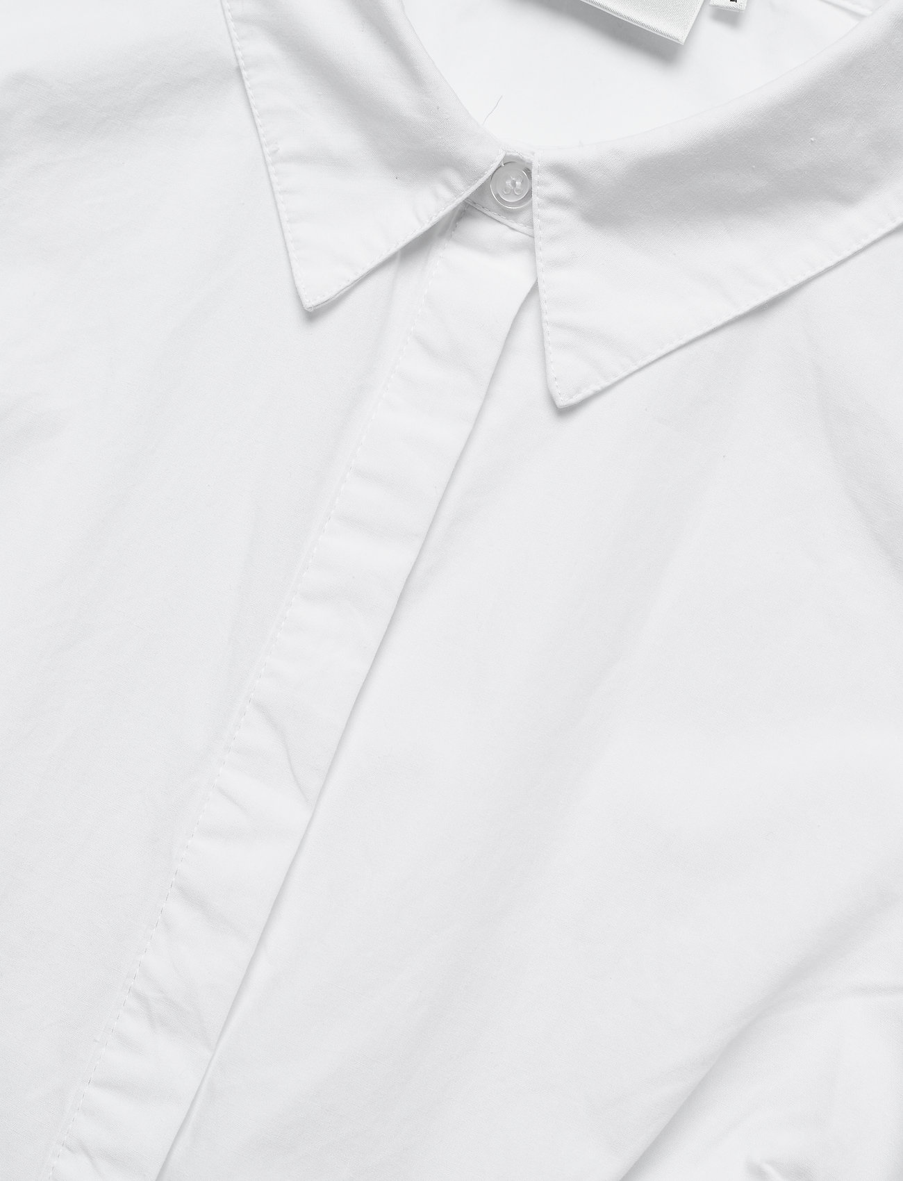 Gestuz - HalioGZ ss shirt - denimskjorter - bright white - 6