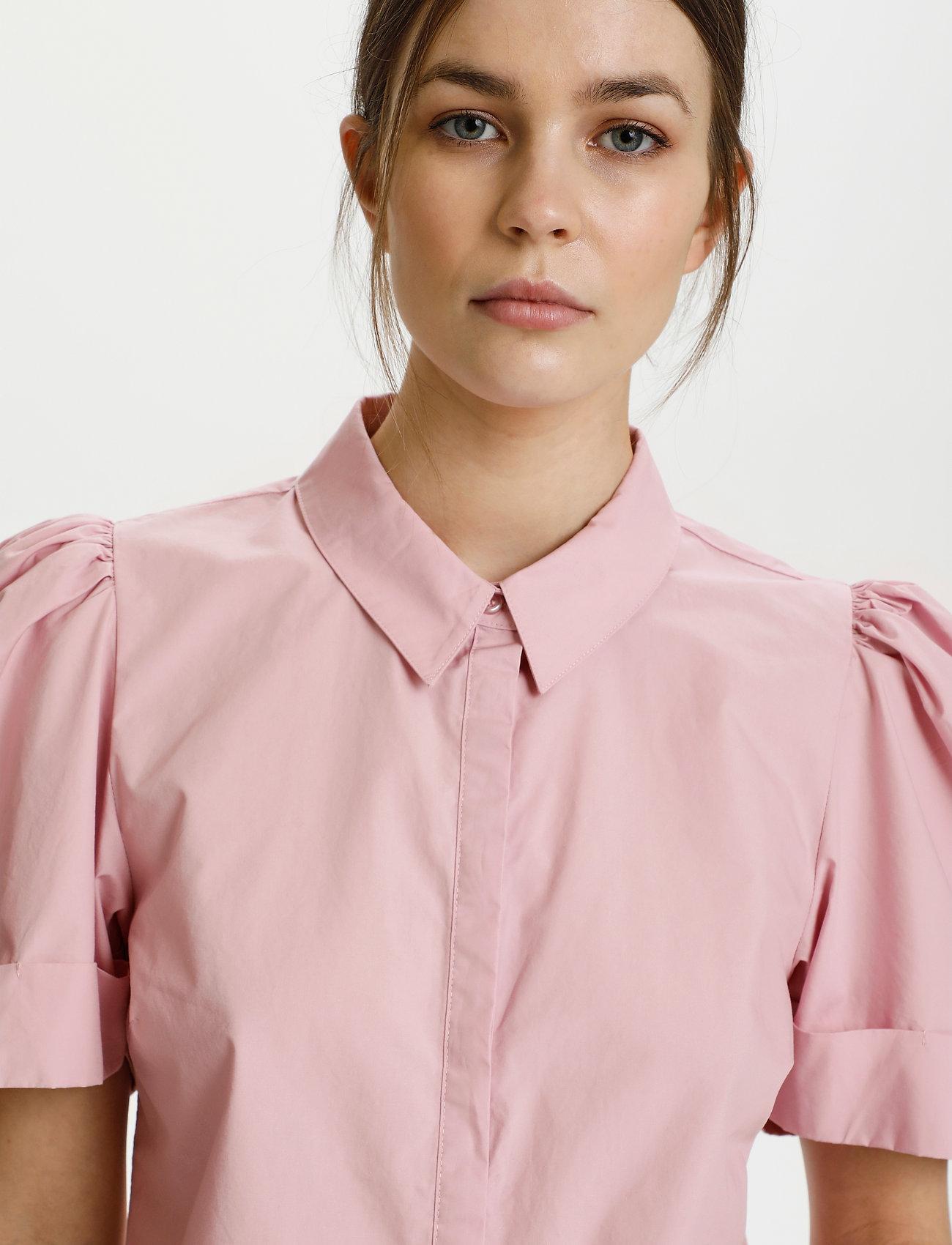 Gestuz - HalioGZ ss shirt - denimskjorter - fragrant lilac - 5