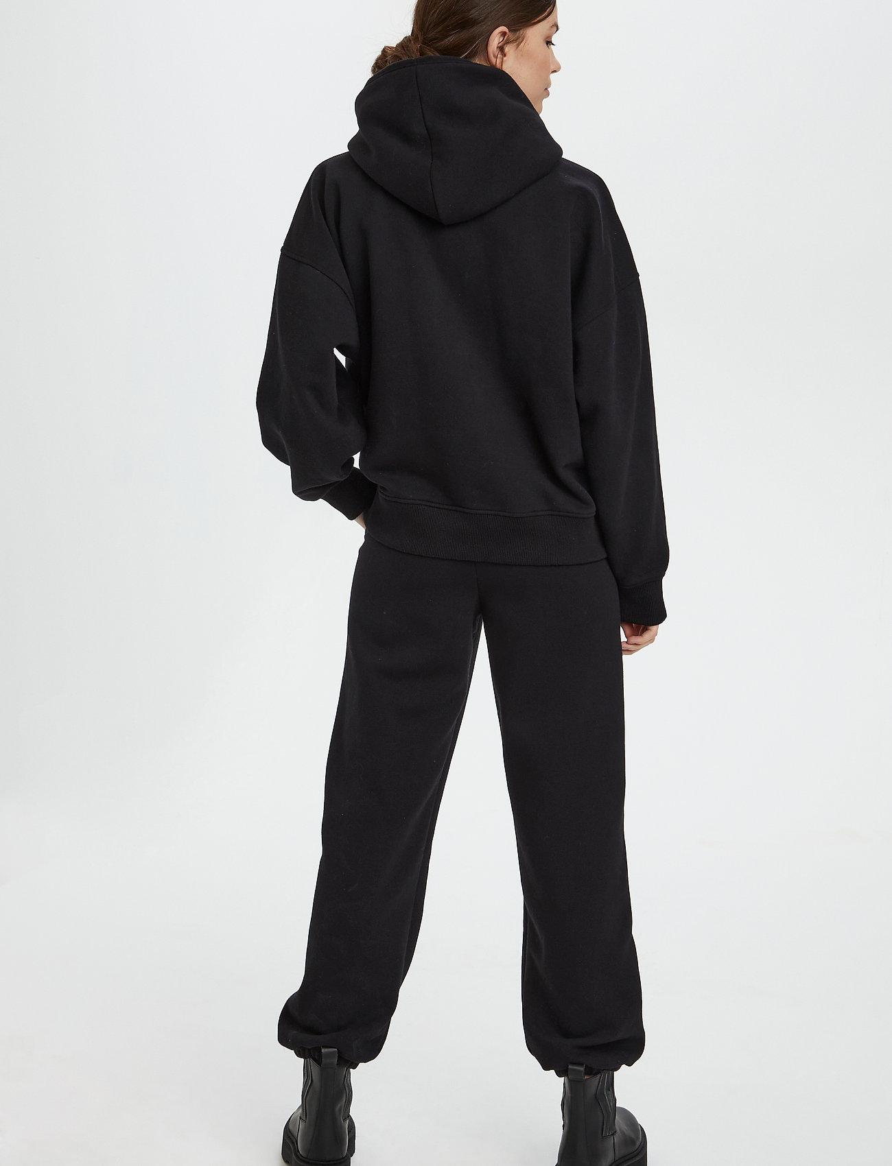 Gestuz - RubiGZ hoodie NOOS - sweatshirts & hættetrøjer - black - 4