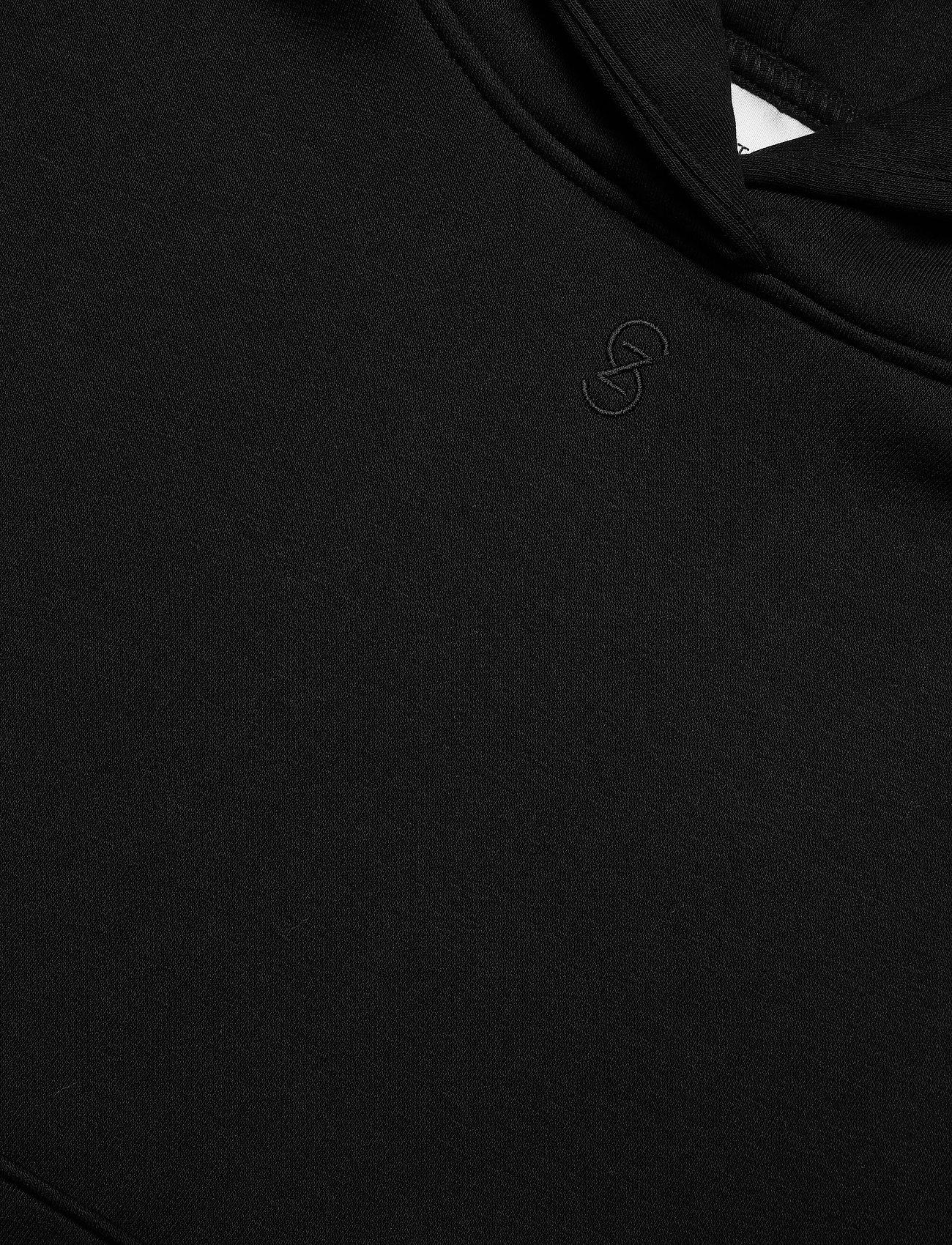 Gestuz - RubiGZ hoodie NOOS - sweatshirts & hættetrøjer - black - 6