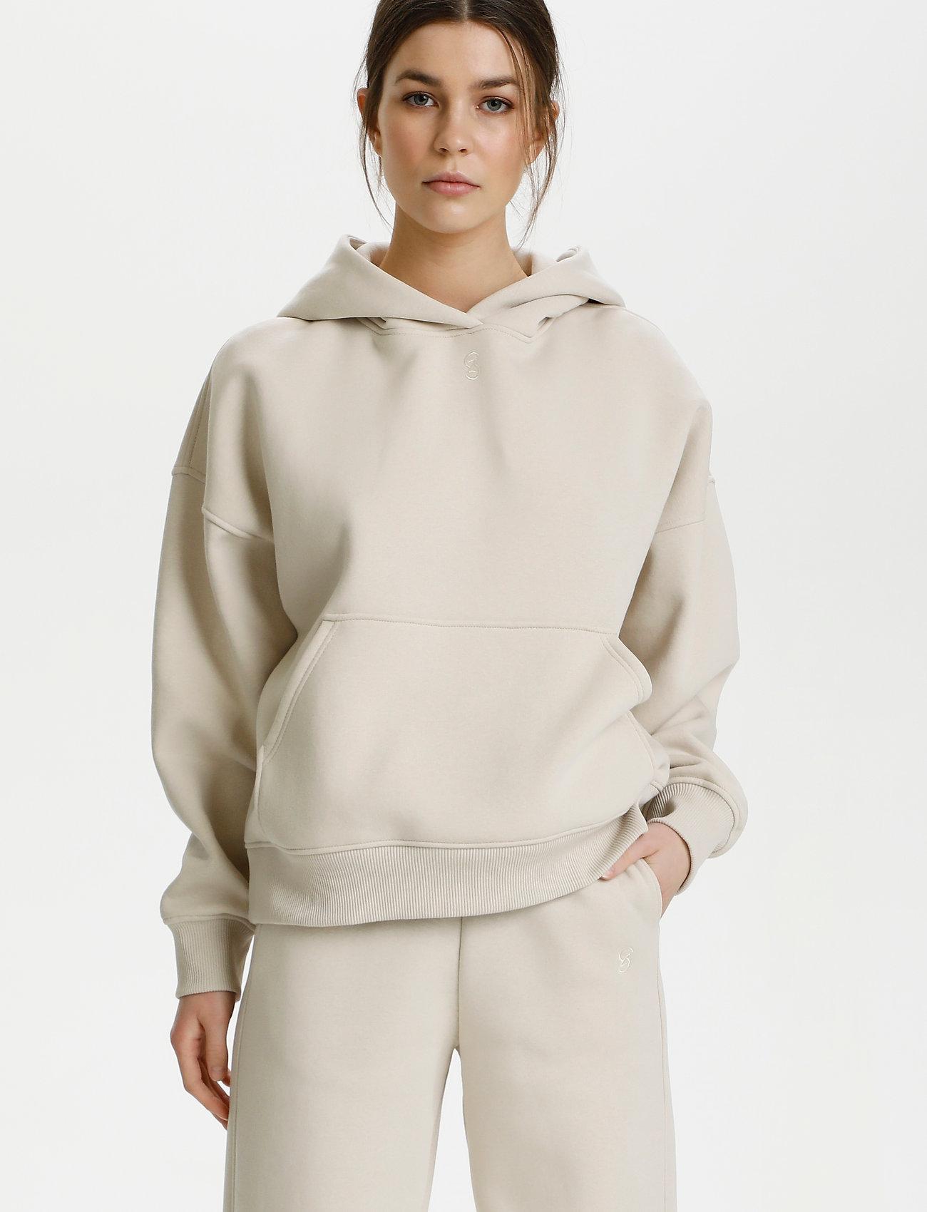 Gestuz - RubiGZ hoodie - sweatshirts & hættetrøjer - moonbeam - 0