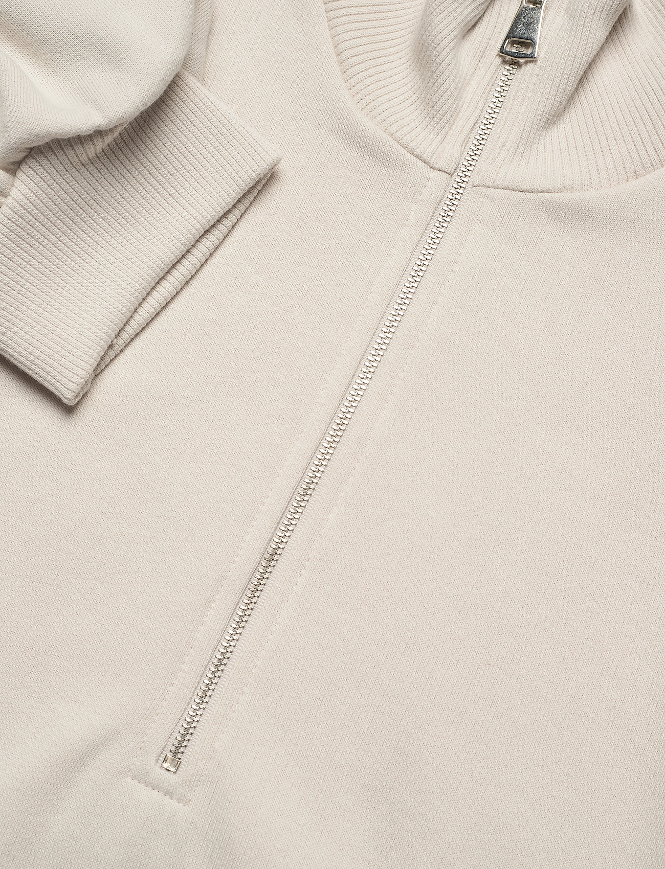Gestuz - NankitaGZ ss zipper sweatshirt - sweatshirts & hoodies - moonbeam - 6