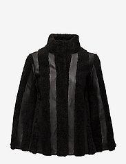 Gestuz - Vatan jacket YE16 - nahkatakit - black - 1