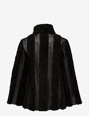 Gestuz - Vatan jacket YE16 - nahkatakit - black - 2