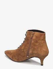 Gestuz - Linea boots MA18 - ankelstøvler med hæl - camel - 2