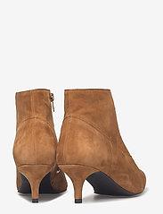 Gestuz - Linea boots MA18 - ankelstøvler med hæl - camel - 4