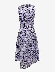 Gestuz - Leopa wrap dress MA18 - wickelkleider - purple leopard - 1