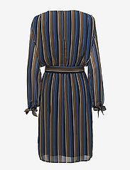 Gestuz - Riba dress MA18 - midi dresses - blue stribe - 1