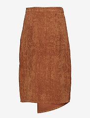 Gestuz - Roy skirt MA18 - midi skirts - caramel café - 1