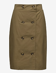 Gestuz - Mira skirt MA18 - midi skirts - antique bronze - 0
