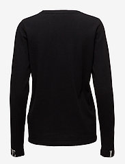 Gestuz - Linka ls pullover MA18 - jumpers - black - 1
