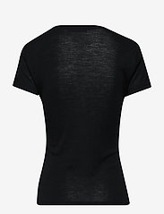 Gestuz - WilmaGZ tee NOOS - basic t-shirts - black - 2