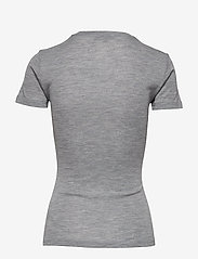 Gestuz - WilmaGZ tee NOOS - basic t-shirts - l.grey melange - 1