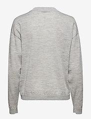 Gestuz - MerinaGZ pullover NOOS - trøjer - l.grey melange - 2