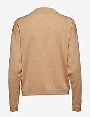 Gestuz - MerinaGZ pullover NOOS - trøjer - tan melange - 1