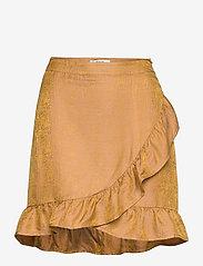 Gestuz - CammaGZ short skirt HS19 - omlottkjolar - narcissus yellow - 0