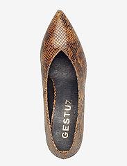Gestuz - PaigeGZ pump AO19 - classic pumps - brown snake - 3