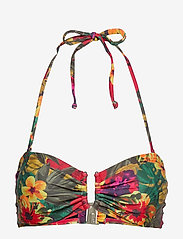 Gestuz - CanaGZ bikini top - bikini overdele - tropical yellow - 0