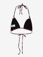Gestuz - PilGZ bikini top AO19 - bikini overdele - black multi stripe - 1