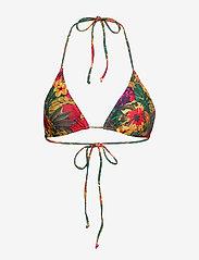 Gestuz - PilGZ bikini top AO19 - bikini overdele - tropical yellow - 0