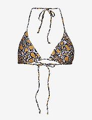 Gestuz - PilGZ bikini top AO19 - bikini overdele - yellow animal - 0