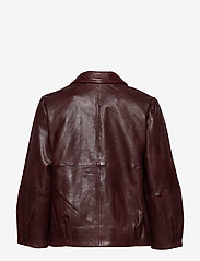 Gestuz - BetzyGZ jacket AO19 - leather jackets - port royale - 2
